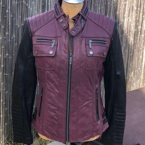 Michael Kors Genuine Leather Jacket
